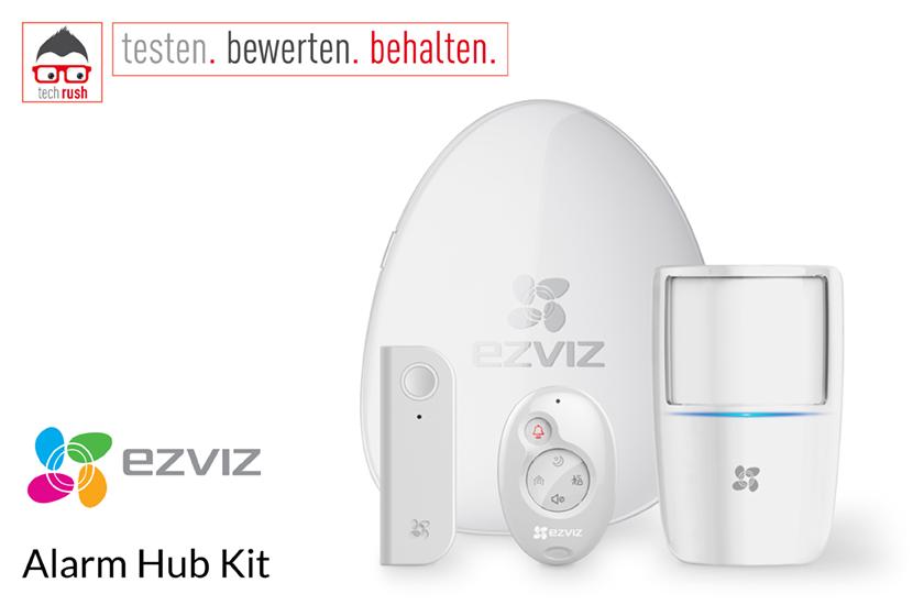 Produkttest EZVIZ Alarm Hub Kit