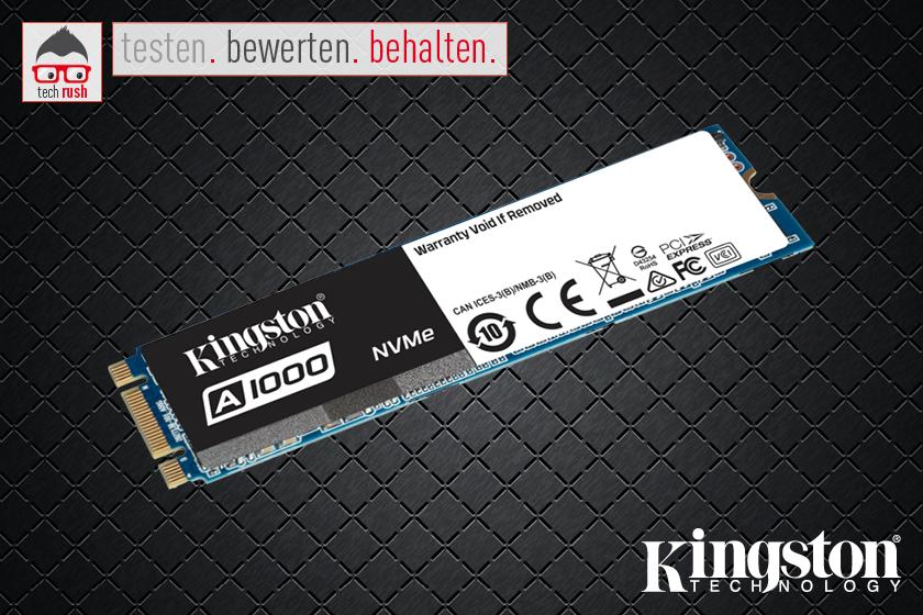 Produkttest Kingston SSD 480GB 900/1.5 SA1000M8 M.2 KIN, Solid State Drive