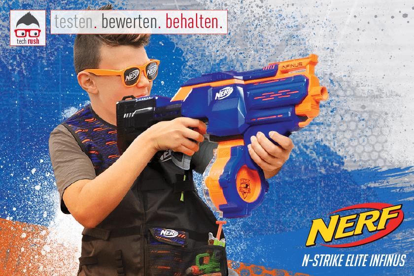 Produkttest Hasbro Nerf N-Strike Elite Infinus