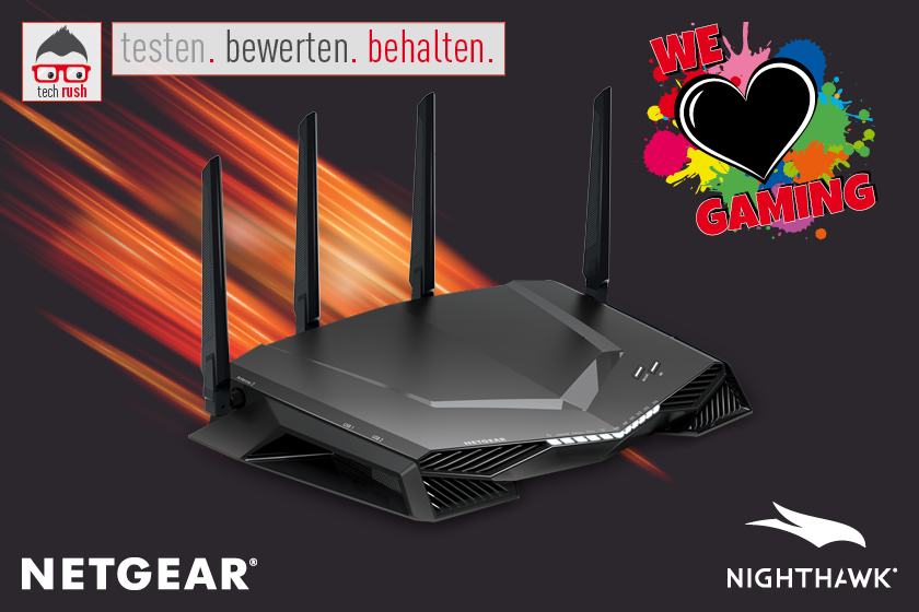 Produkttest Netgear XR500 Nighthawk Gaming Router