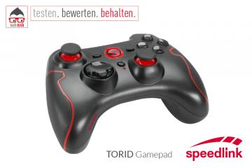 Produkttest Speedlink TORID Gamepad