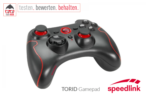 Produkttest Speedlink TORID Gamepad