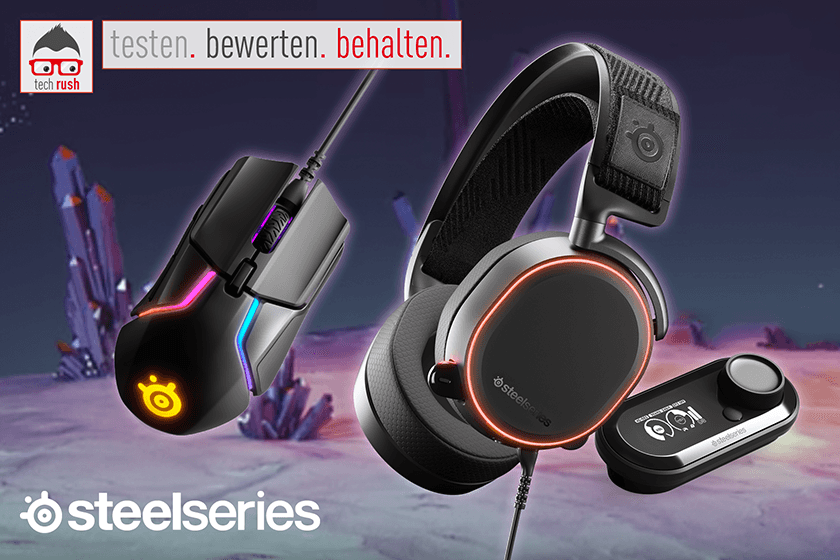 Produkttest SteelSeries Gaming-Bundle