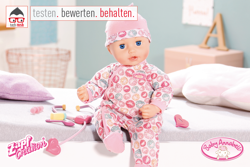 Produkttest ZAPF Creation Baby Annabell® Milly Feels Better, Puppe