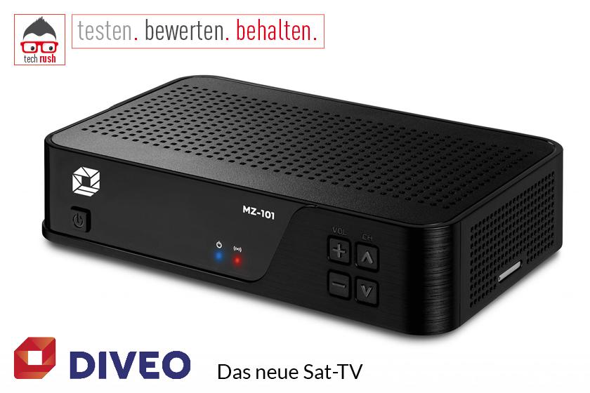Produkttest Diveo Settop Box Sat-Receiver