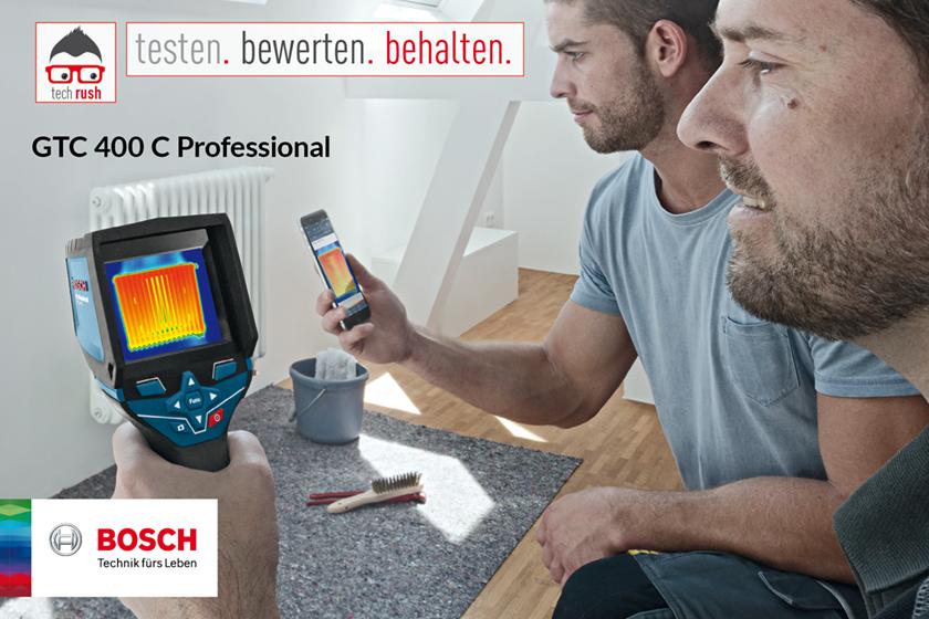 Produkttest Bosch Thermodetektoren GTC 400 C Professional