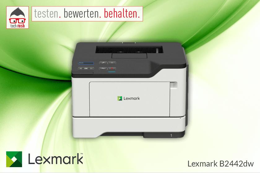 Produkttest Lexmark B2442dw Laserdrucker