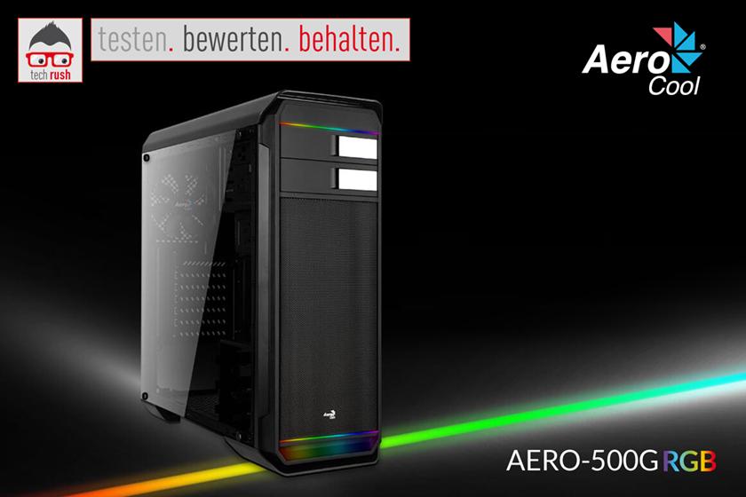 Produkttest Aerocool Aero-500G RGB Black, Tower-Gehäuse