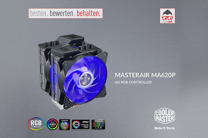 Produkttest Cooler Master MasterAir MA620P CPU-Kühler