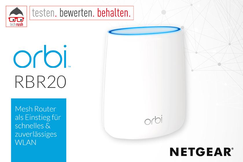 Produkttest Netgear Orbi RBR20 Router