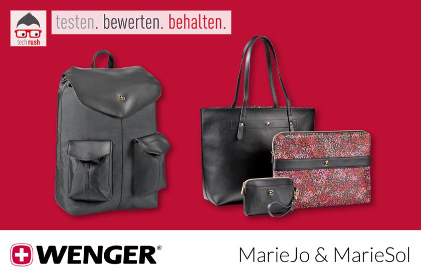 Produkttest Wenger MarieJo MarieSol Rucksack Tasche