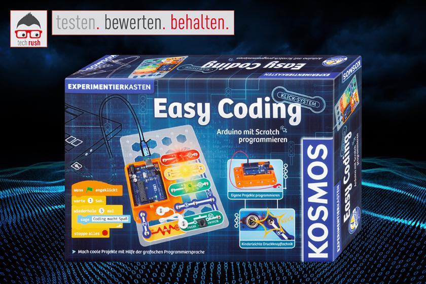 Produkttest KOSMOS Easy Coding Experimentierkasten