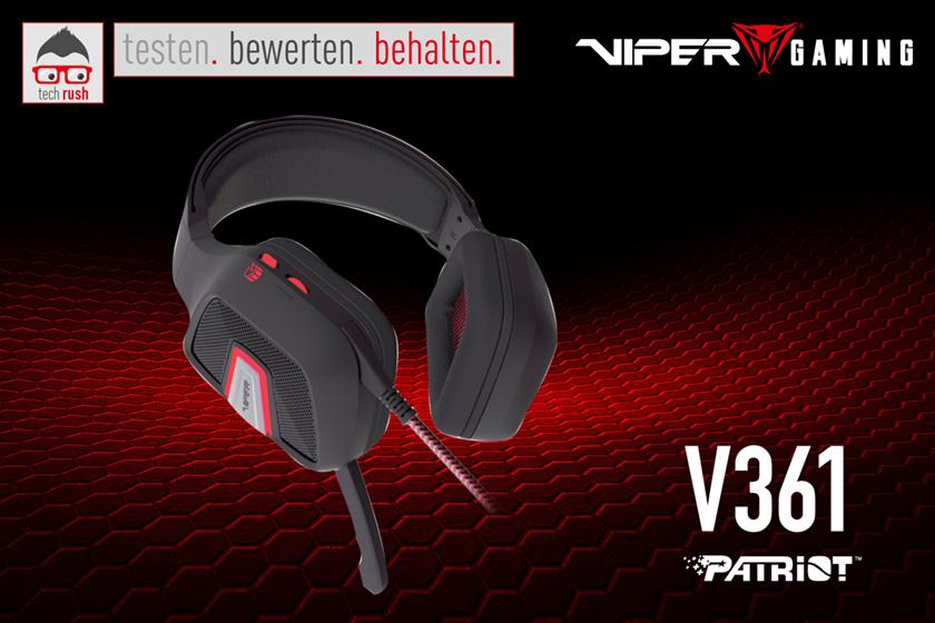 Produkttest Patriot V361 Headset Virtual 7.1
