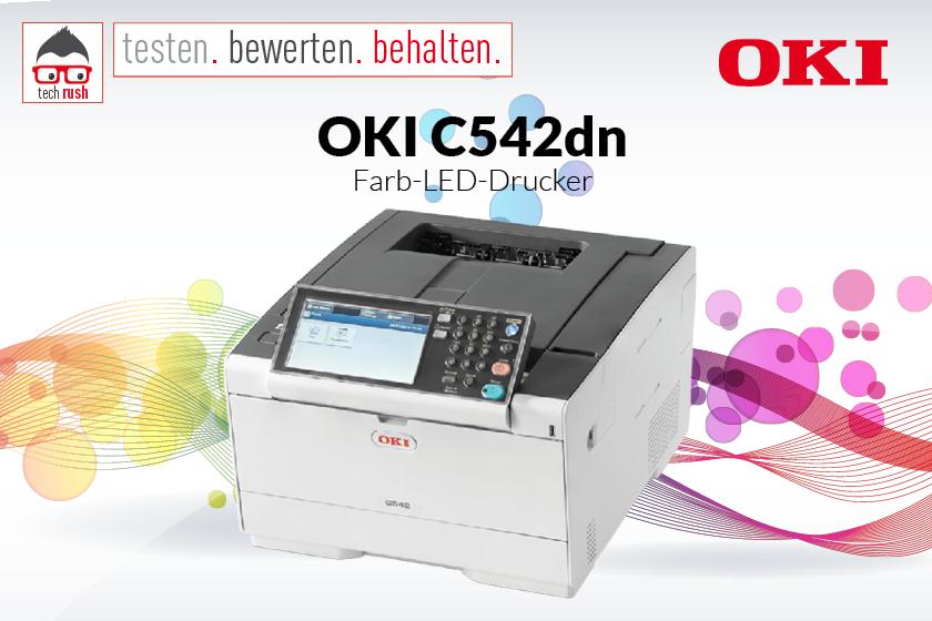 Produkttest Oki C542dn LED-Drucker