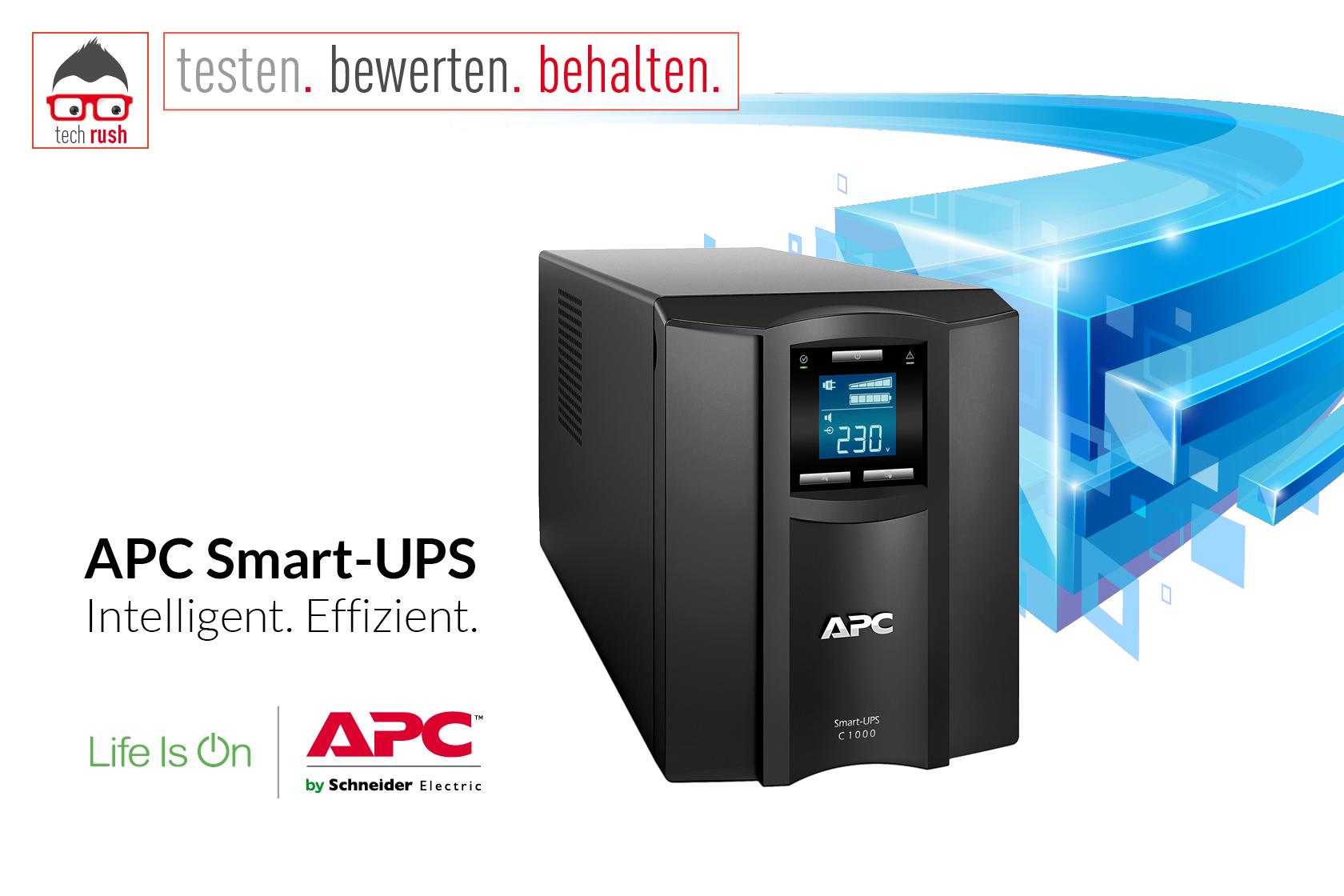 Produkttest APC Smart-UPS C 1000VA LCD USV
