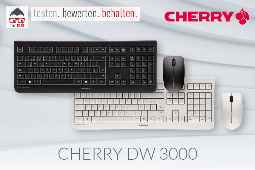 Produkttest CHERRY DW 3000 Desktop-Set