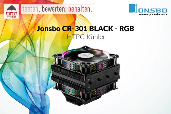 Produkttest Jonsbo CR-301 BLACK - RGB, CPU-Kühler