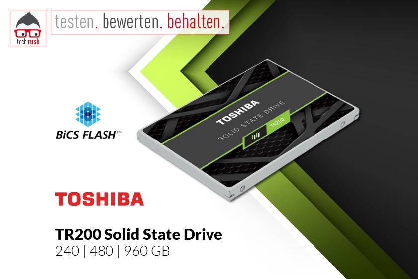 Produkttest Toshiba TR200 SSD