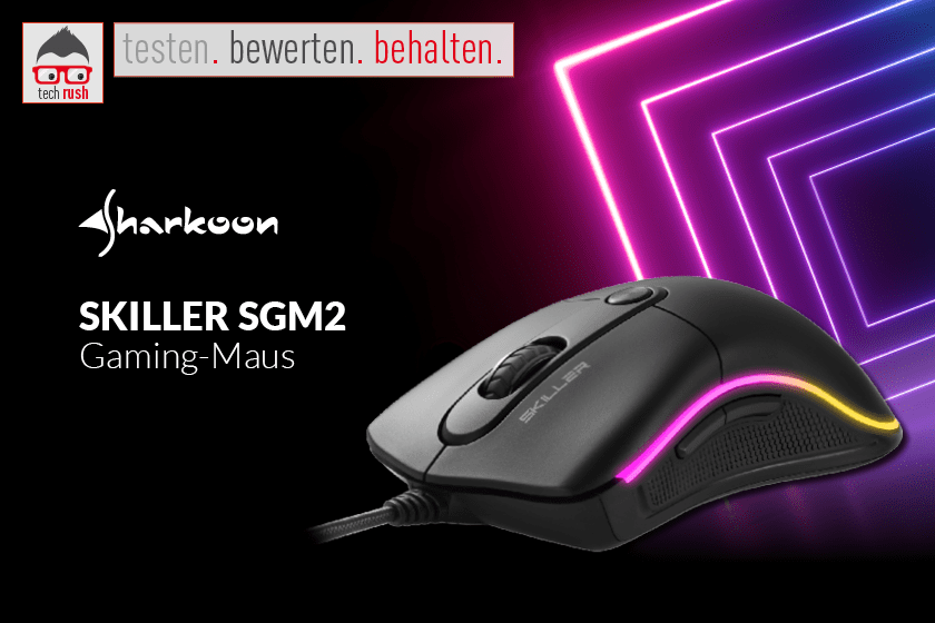 Produkttest Sharkoon SKILLER SGM2, Maus