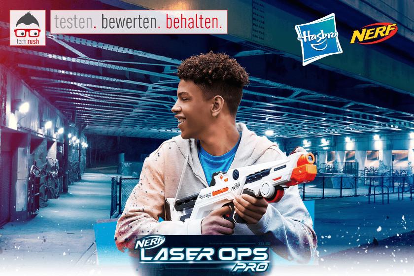 Produkttest Hasbro Nerf Laser Ops