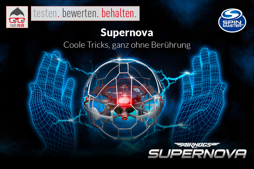 Produkttest Spin Master Air Hogs Supernova Drohne