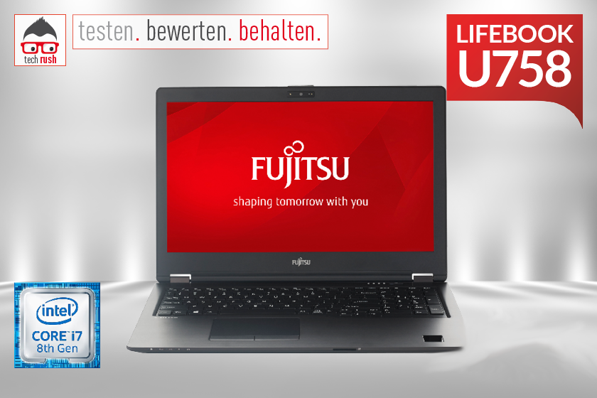Produkttest Fujitsu LIFEBOOK U758 (VFY:U7580MP782DE)