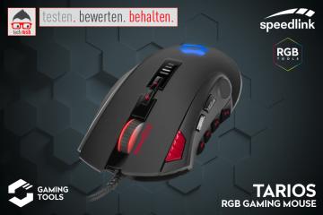 Produkttest TARIOS RGB Gaming Mouse