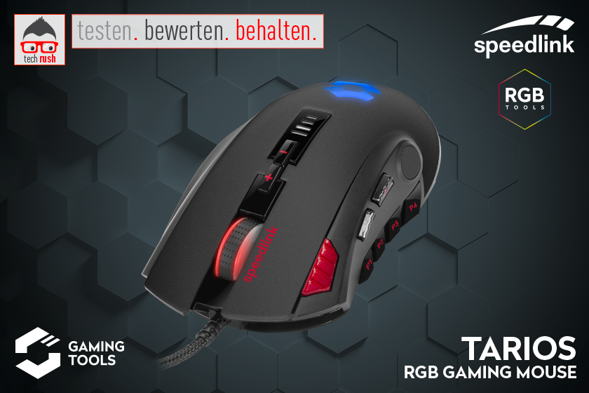 Produkttest TARIOS RGB Gaming Mouse
