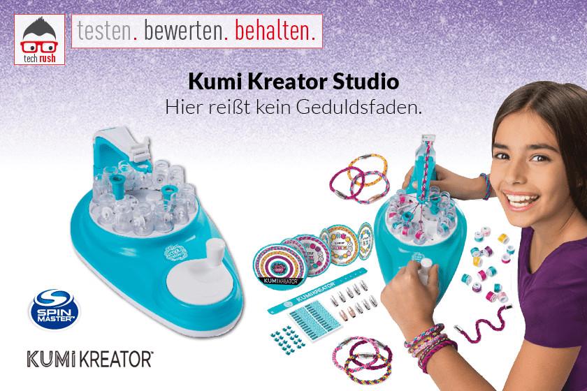 Produkttest Spin Master Kumi Kreator Studio