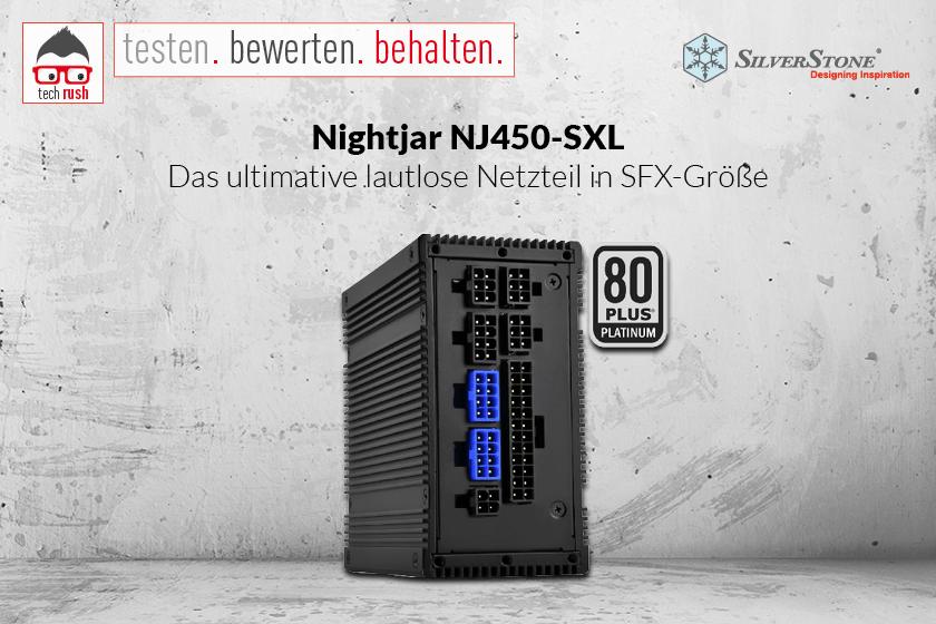 Produkttest SST-NJ450-SXL 450W, PC-Netzteil