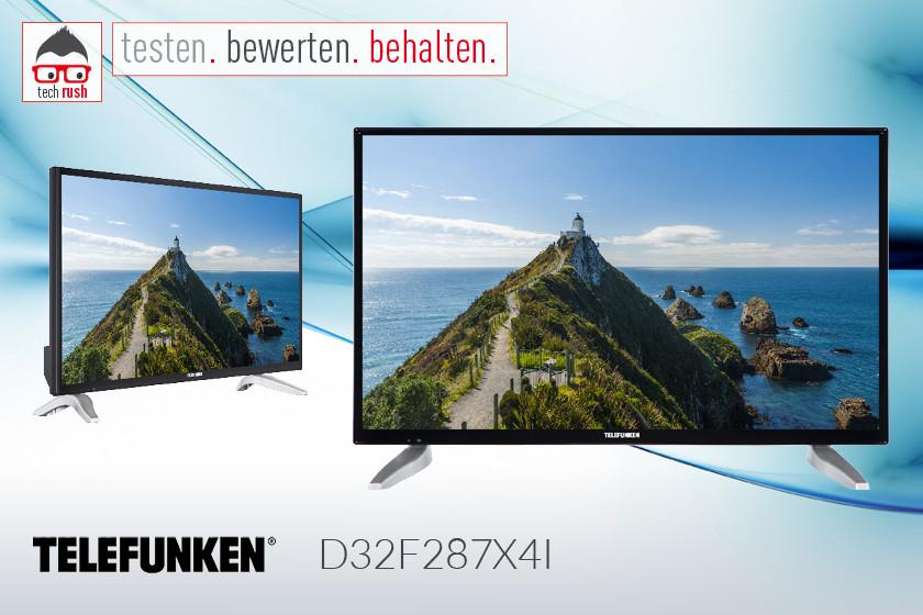 Produkttest Telefunken D32F287X4I, LED-Fernseher