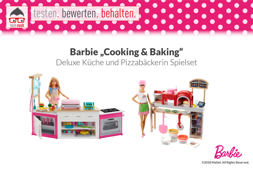 Produkttest Barbie Cooking & Baking