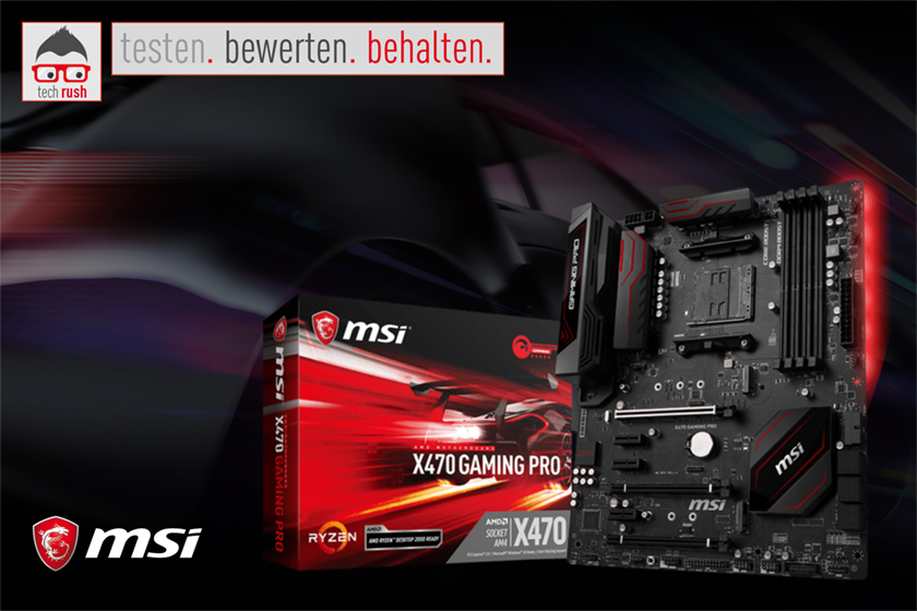 Produkttest MSI X470 GAMING PRO, Mainboard