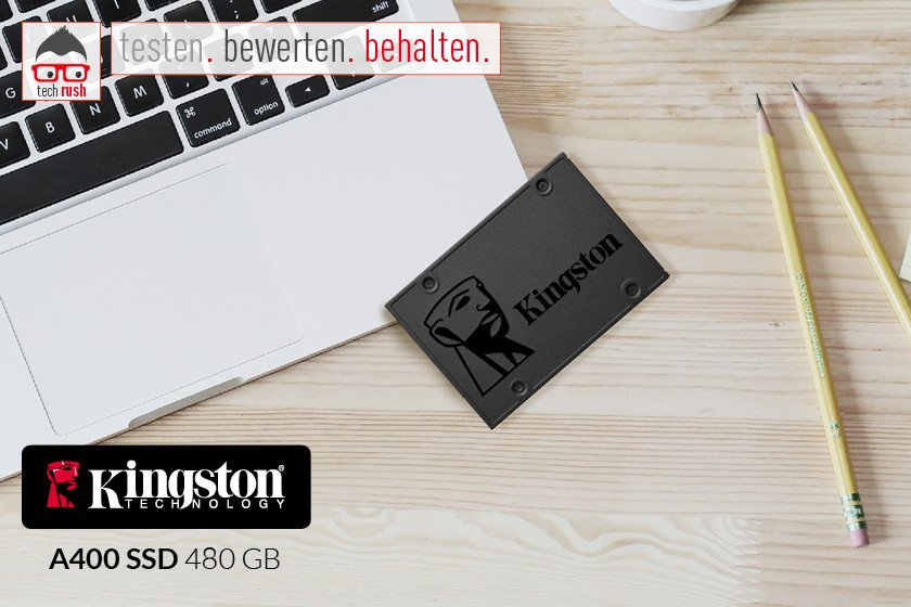 Produkttest Kingston A400 480 GB, Solid State Drive