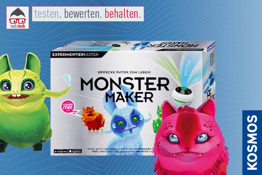 Produkttest KOSMOS Monster Maker, Experimentierkasten