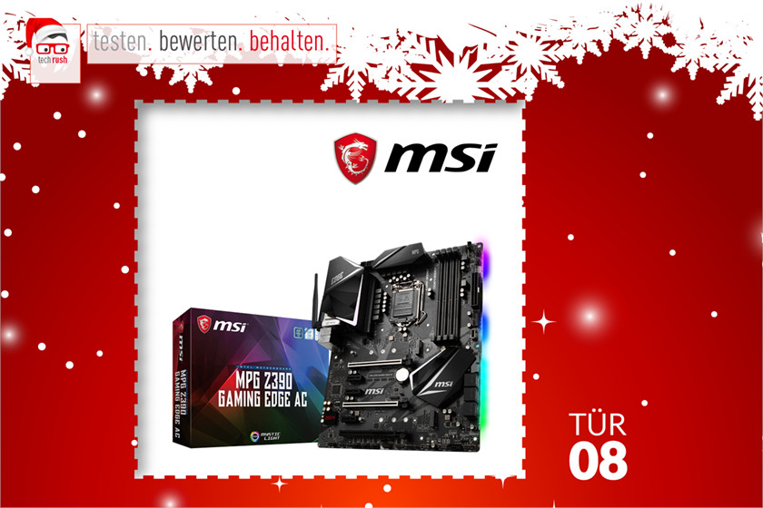 Produkttest MSI MPG Z390 GAMING EDGE AC, Mainboard