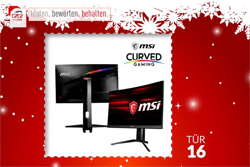 Produkttest MSI Optix MAG271C, LED-Monitor