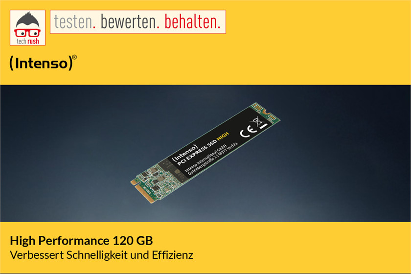 Produkttest Intenso High Performance 120 GB, Solid State Drive