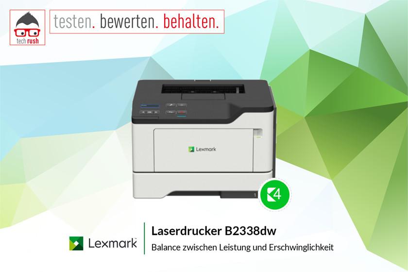 Produkttest Lexmark B2338dw, Laserdrucker