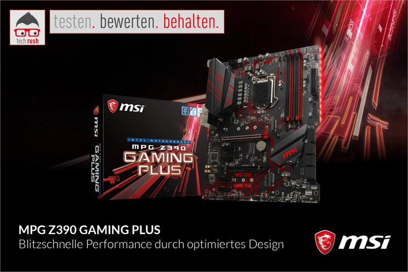 Produkttest MSI MPG Z390 GAMING PLUS, Mainboard