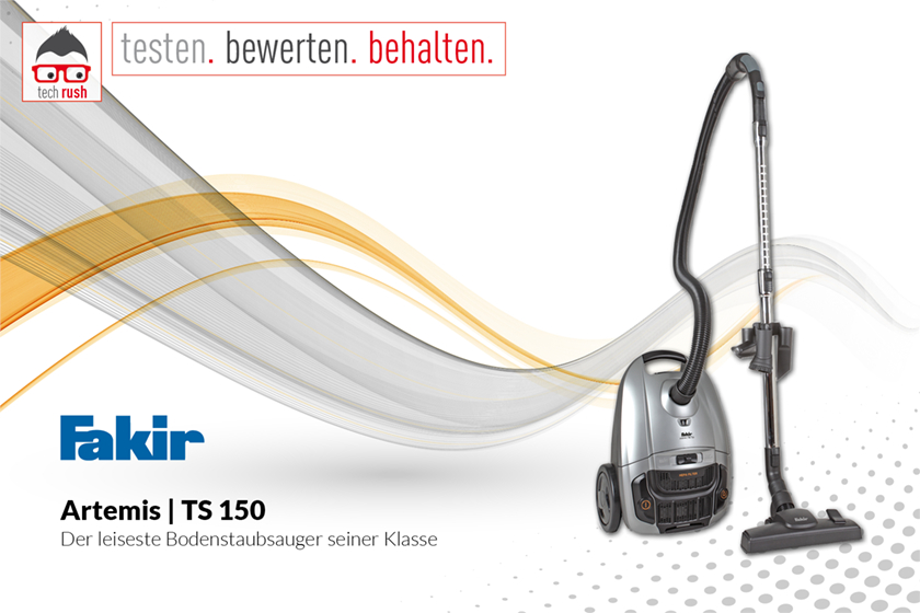 Produkttest Fakir Bodenstaubsauger Artemis TS 150