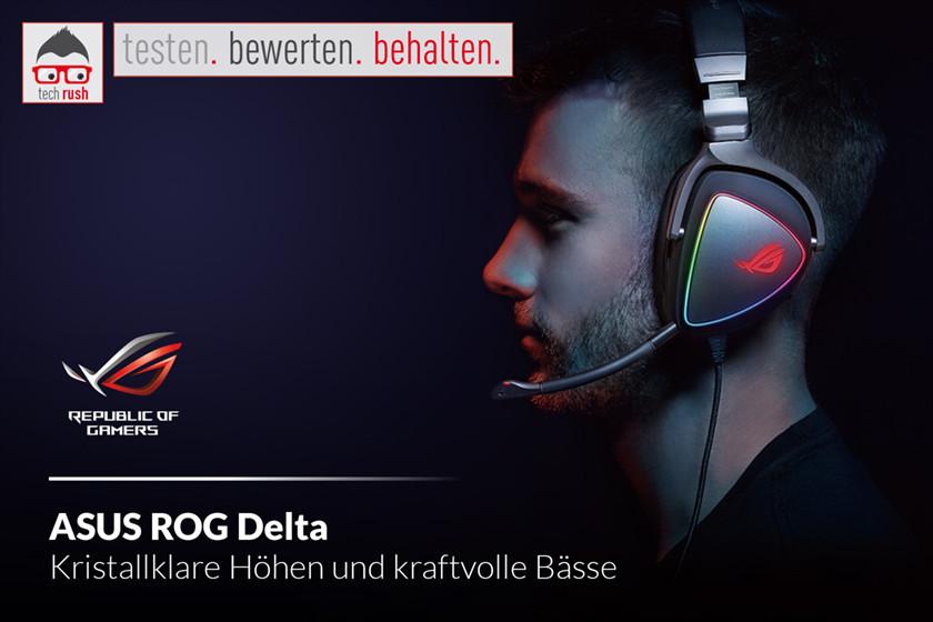 Produkttest ASUS ROG Delta, Kopfhörer