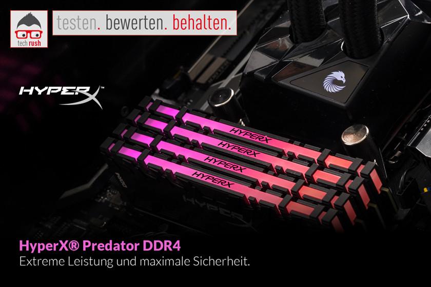Produkttest HyperX DIMM 16 GB DDR4-2933 Kit, Arbeitsspeicher