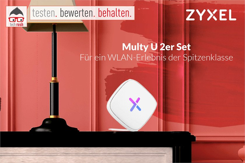 Produkttest Zyxel Multy U 2er Set, Mesh Router