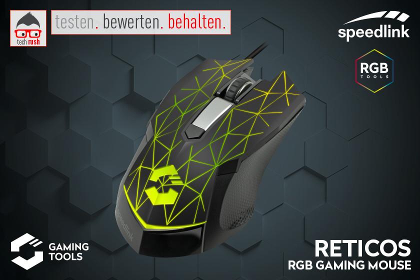 Speedlink RETICOS RGB Gaming Maus