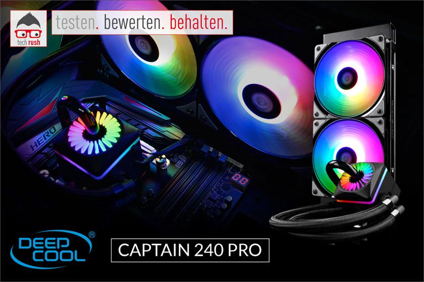 Produkttest Deepcool Captain 240 PRO, Wasserkühlung