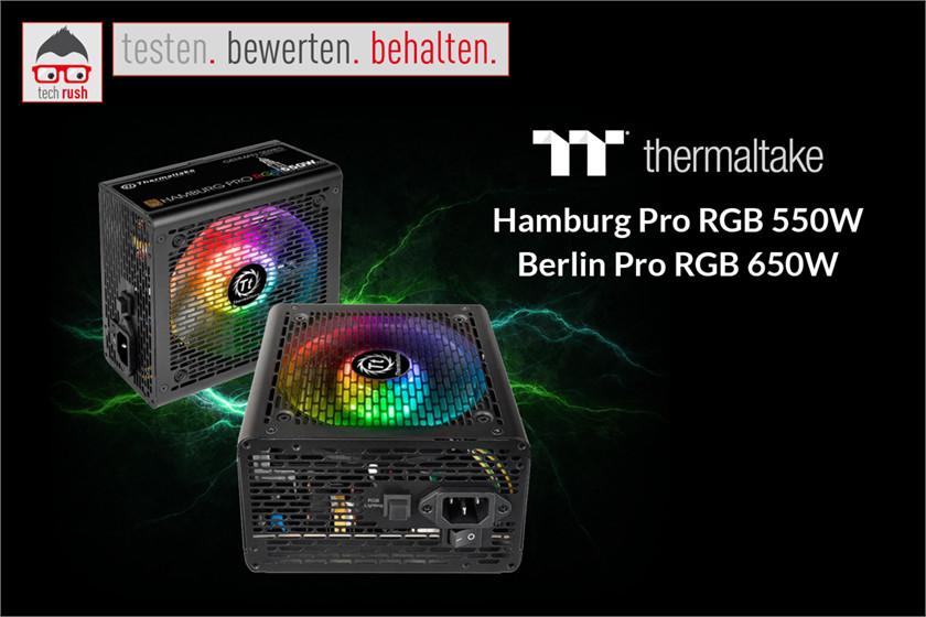 Produkttest Thermaltake Pro RGB, PC-Netzteil