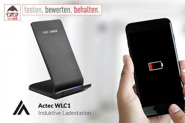 Produkttest: Actec WLC1 Induktive Ladestation