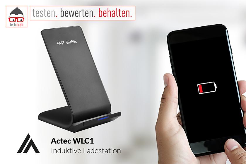 Produkttest: Actec WLC1 Induktive Ladestation
