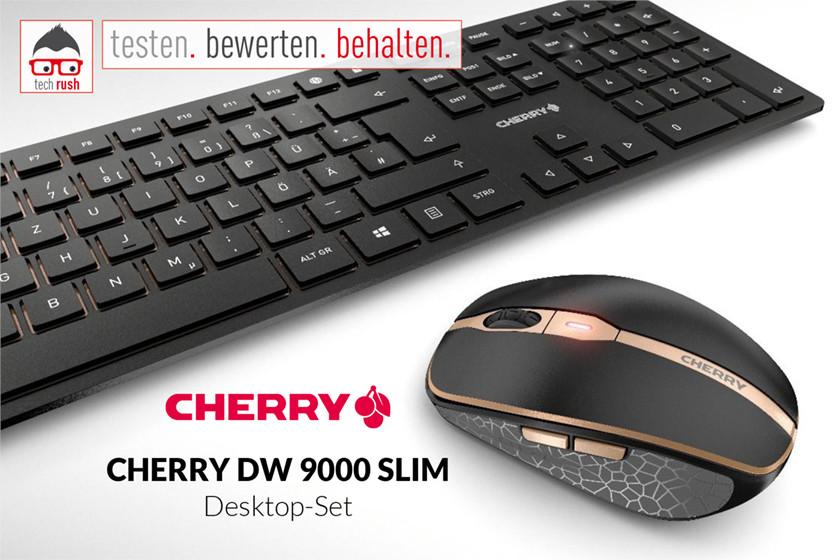 CHERRY DW 9000 SLIM, Desktop-Set